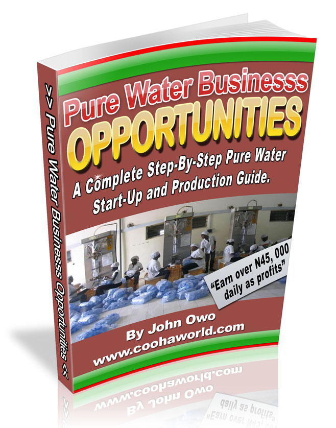 PURE WATER BUSINESS PLAN