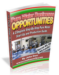 Pure Water Business Opportunities in Nigeria